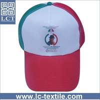 Recommend custom printed cheap multicolored 5 panel coolmax 100% polyester nylon baseball cap for political elect vote(LCTC0272)