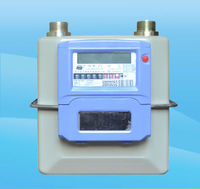 IC card wireless remote gas meter with steel case (G1.6/2.5/4)