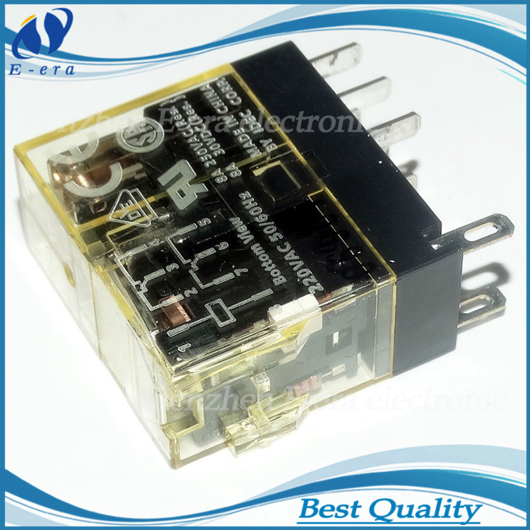 IDEC RJ2S-CL-A220 8 pin 50/60hz miniature electromagnetic 220v ac relay