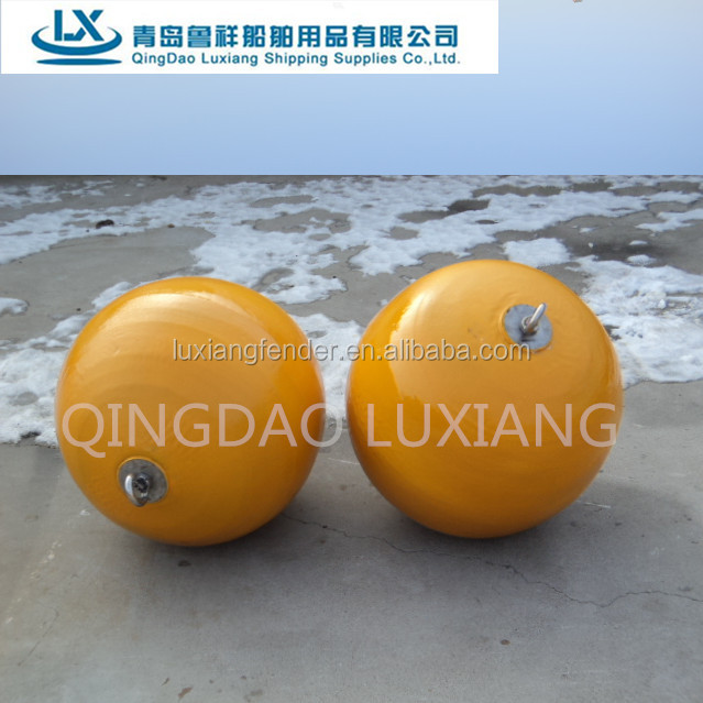 luxiang brand colorful high density foam filled fender buoy