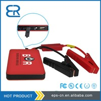 Promotional price car battery charger car jump starter power bank 6000mAh for 12V mini gas cars