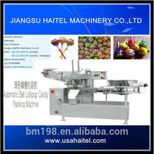 Best type of ball lollipop candy packing machine of twisted kind