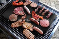 Set of 3 miracle grill mat smooth 100% non stick surface bbq grill mat best solution for fish grill