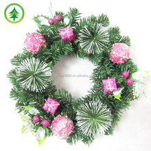 xibao brand New design products for fiber optic Christmas wreaths decoration