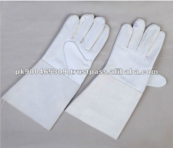 Pakistan Best Quality Sitca Leather Working Safety Gloves