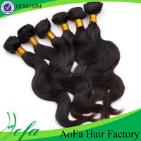 top quality 100% human hair by the bundle