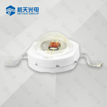 1w 3w high power 30-50Lm 620-630nm red led