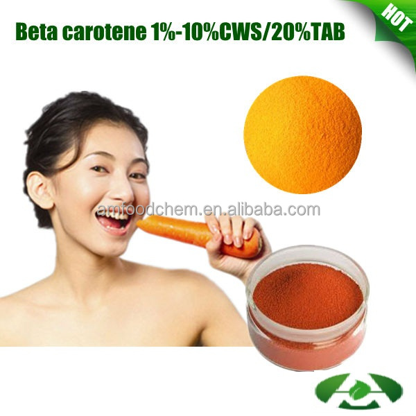 High Quality Food Additive, Beta Carotene Raw Material CWS