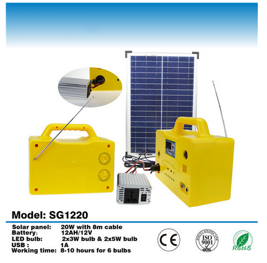 solar energy system/solar power system for fan&tv&computer&fridge&air conditioner
