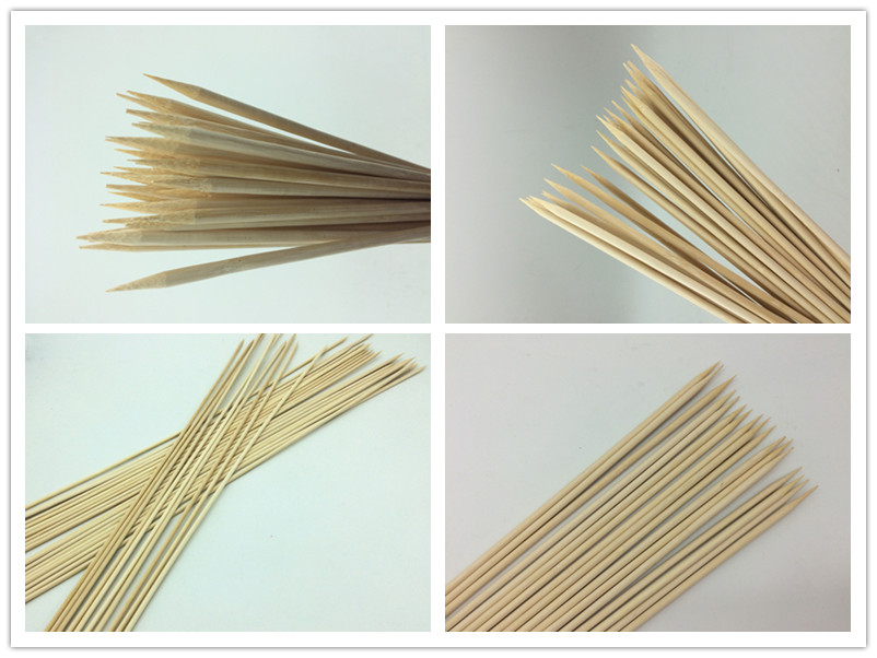 Premium Bamboo Marshmallow Smores Roasting Sticks 30 Inch 5mm Thick Extra Long Heavy Duty Wooden Skewers, 100 Pieces.