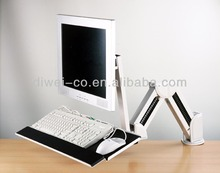 LCD Monitor ARM With Keyboard Mounting Bracket, LCD wall mount