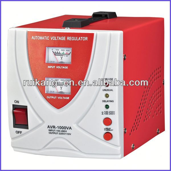 motorcycle voltage stabilizer,80% power electrical stabilizer 1000w