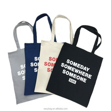 12oz Cotton canvas bag Cheap Customized Logo tote shopping bag