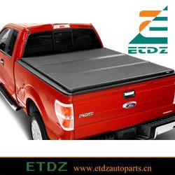 Truck Folding Cover Bed Cover Fits 14-15 Toyota Tundra for Ford F150