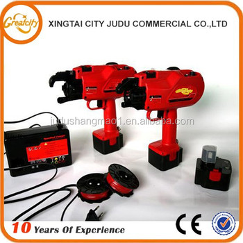 Efficiency automatic rebar tying machine
