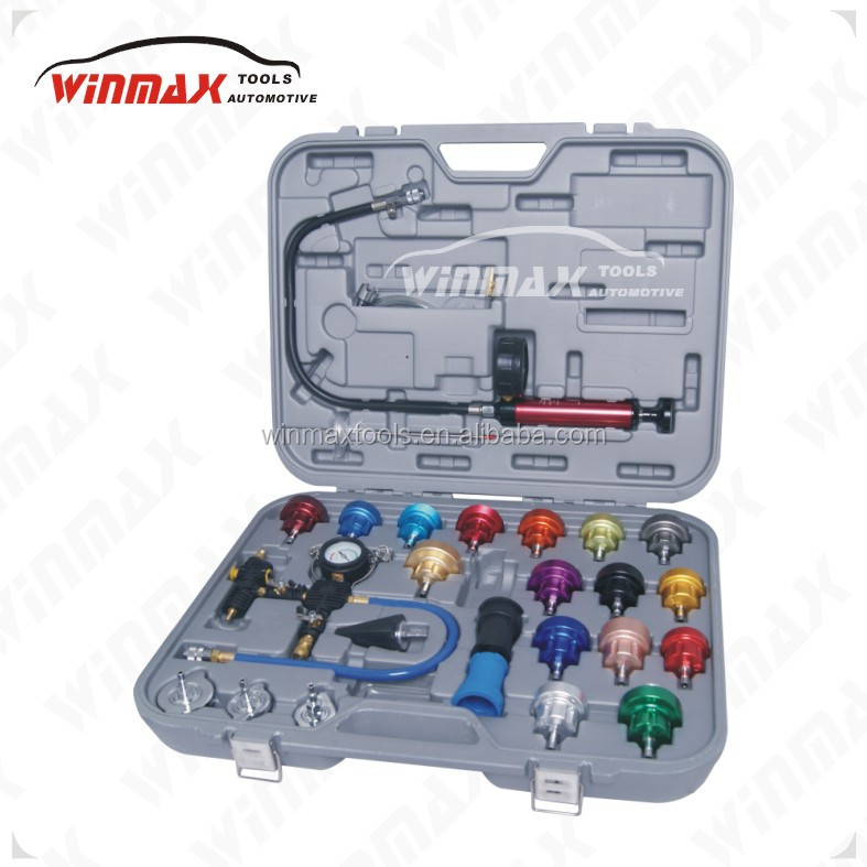 WINMAX WT05076 24 Piece Cooling System and Radiator Cap Pressure Tester