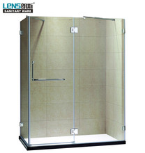 High quality simple glass enclosed shower cubicle
