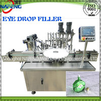Full-automatic electric cigarette oil eye drop filling capping machine