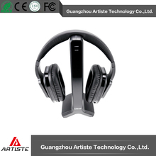 Digital wireless noise cancellation headset with charging base for TV/PC/DVD/Hi-Fi system/Smartphone