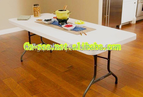 1.8m hot sell plastic <strong>folding</strong> table For Event Used HQ-C180,White Plastic Outdoor Table,Cheap Plastic Round Table