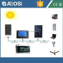 2016 hot sale Arosi 2kw solar energy system 18 volt 5 amp power supply