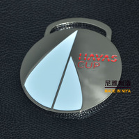 Niya Sailboat metal medal with emboss logo