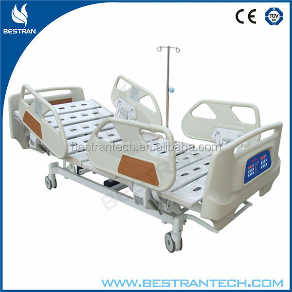 China BT-AE017 multi function linak electric hospital intensive care bed, parts for electric adjustable bed and mattress