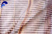 Factoy low price with high quality hot selling sheer curtain fabric for hotel