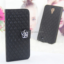 Kid skin Pattern leather for samsung i9200 galaxy s2 flip leather case