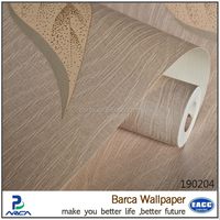Barca 1902 series hot sale natural wallpaper flower wallpaper with factory direct price