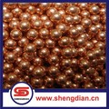 best price solid copper coated steel ball