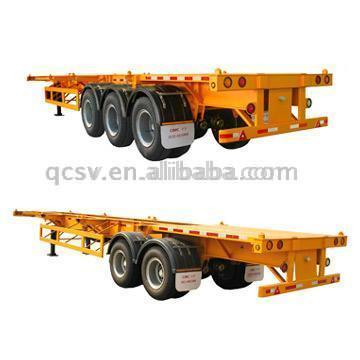 Container Chassis (Double-Axle / Tri-Axle)