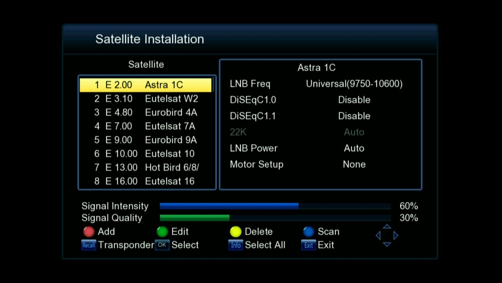 powervu patch biss key free porn video DVB-S2+T2 freesat V7 combo set top box support 3G CCCAM full 1080P HD satellite receiver