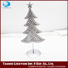 Arts And Crafts Frame Metal Christmas Tree Shaped Decoration,,Mini Christmas Tree