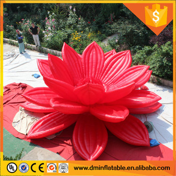 hanging inflatable yard decorations flower