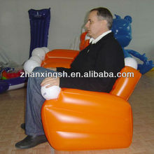 2014 shanghai zhanxing new design hot sale cheap Inflatable cooler sofa chair