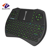 Green LCD air mouse I9 mini M8S T95N 2.4g Mini I9 Wireless Computer Laptop Keyboard For Andriod,Ios,Windows