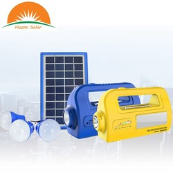 All in One Mobile Charging Radio Function Solar kits for home