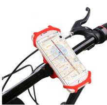 2017 new patent bike silicone phone mount holder bracket holder for 4-6 inch smartphones