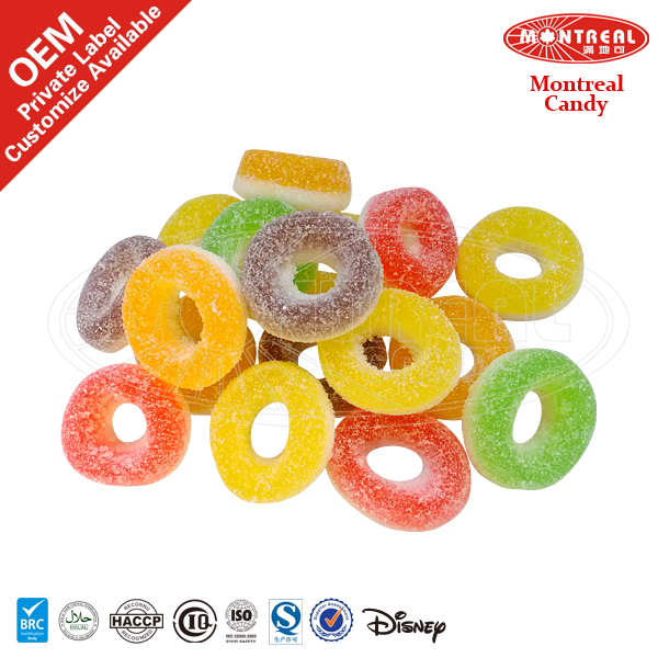 Circle Shape Sweets Candy
