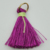 DIY 2.8cm tall a lot of colors options polyester small tassel for cloth or sarees