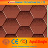 Shandong MosaicType Asphalt Shingles in Dertand Tan with best price