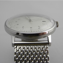 High quality 316L S/S case/bracelet geneva watch with visible mechanism for business