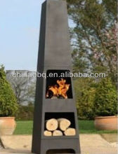 Chimenea with storage