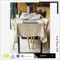 China supplier 100% stone wahsed linen table cover/pure linen table cloth