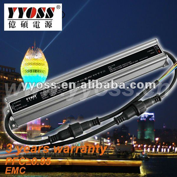 24W Constant Current LED Driver for 300mA 24v led driver constant current