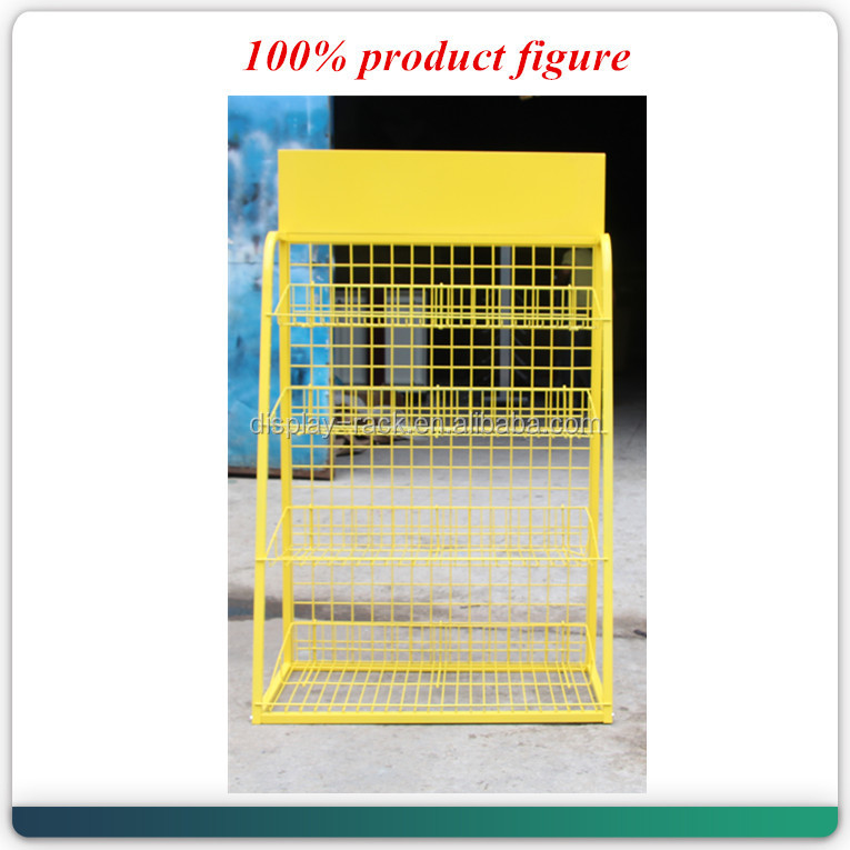 wholesale <strong>retail</strong> metal lubricant essential engine oil display rack for sale HSX-S0025