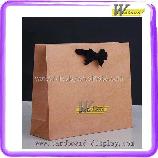 Eco-Friendly clothes kraft paper bag Paper Handle Bag