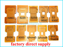 LCD Mould Touch Screen Mold Holder for Iphone 5S/5/4S/4 Samsung Galaxy S4 I9500, Note2 N7100, S3 I9300, I8190, I9100, I9220