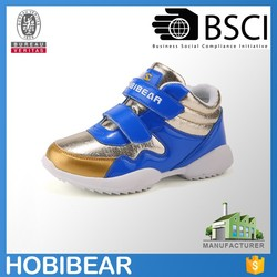 2015 HOBIBEAR anti skid shoes durable orthopedic kids shoes